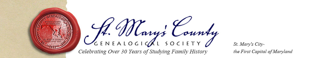 St. Marys County Genealogical Society